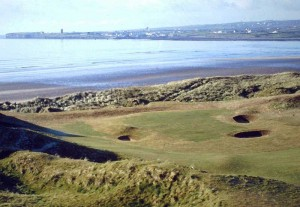 The 7th green at Lahinch Golf Course - Constructed by Duncan Gray