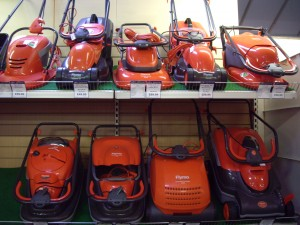 Rotary mowers - a small selection