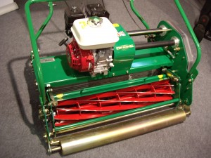 A typical cylinder lawn mower