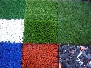 Artificial grass comes in a huge variety of styles and colours